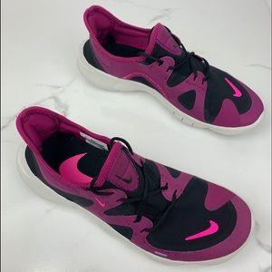 Nike Free RN 5.0 Black Purple White Women's 8